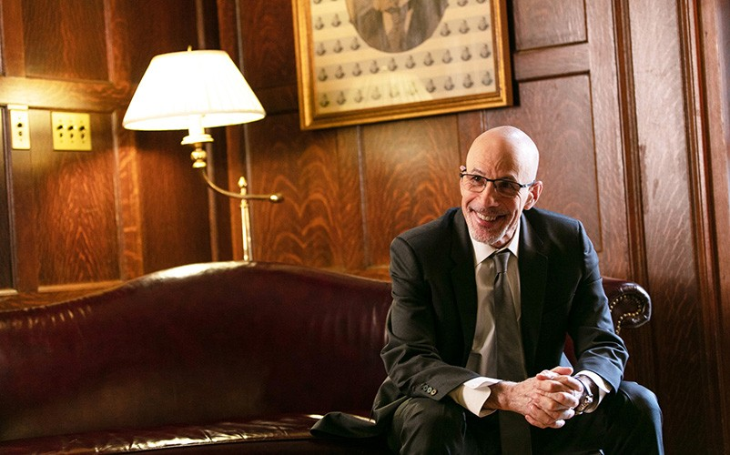 Stephen Klasko in his office